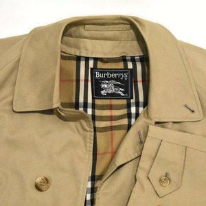 40S Burberry Beige DOUBLE LINED Nova Check Trench